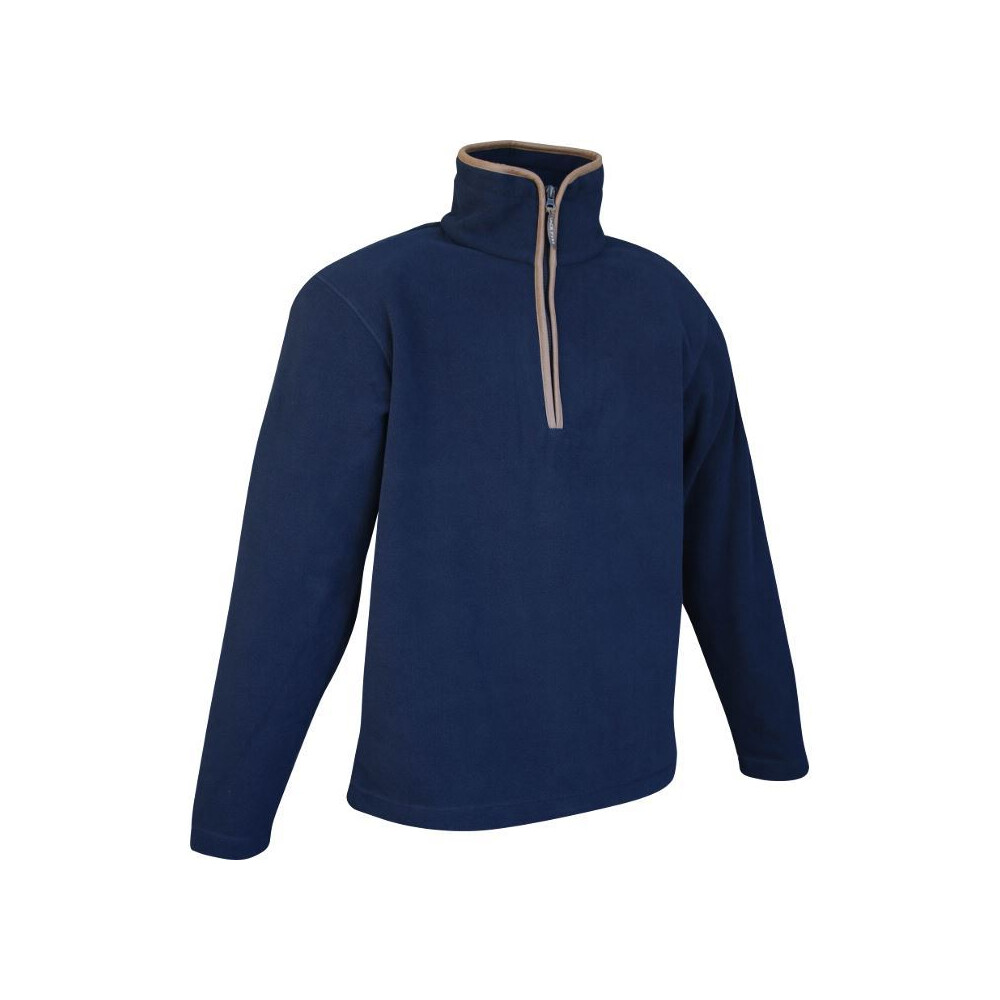 Jack Pyke Countryman Half Zip Pullover Fleece - Navy Blue