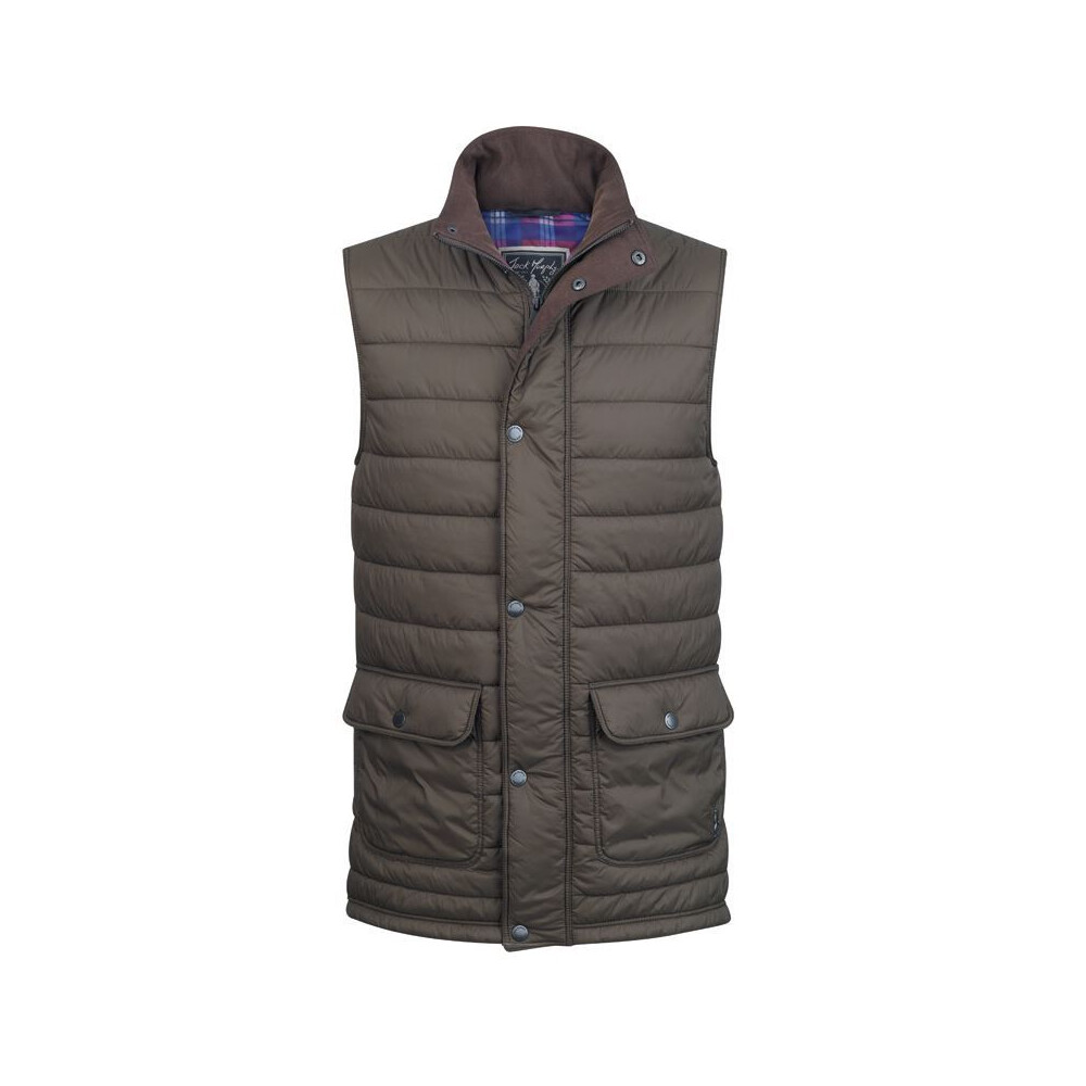 Jack Murphy Alistair Quilted Gilet