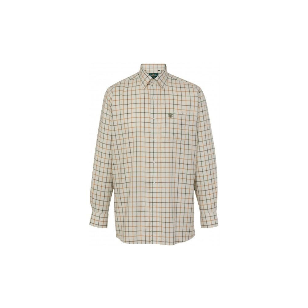 Alan Paine Ilkley Mens Shirt - Olive Green