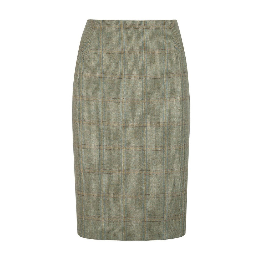 Dubarry Fern Tweed Pencil Skirt - Connacht Acorn