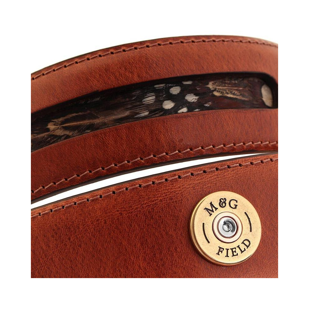 Mackenzie & George Warwick Belt - Chestnut Brown