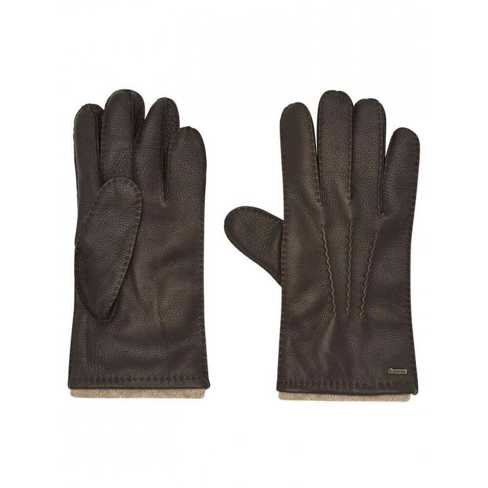 Dubarry Of Ireland Dubarry Lisryan Men's Leather Gloves - Mahogany