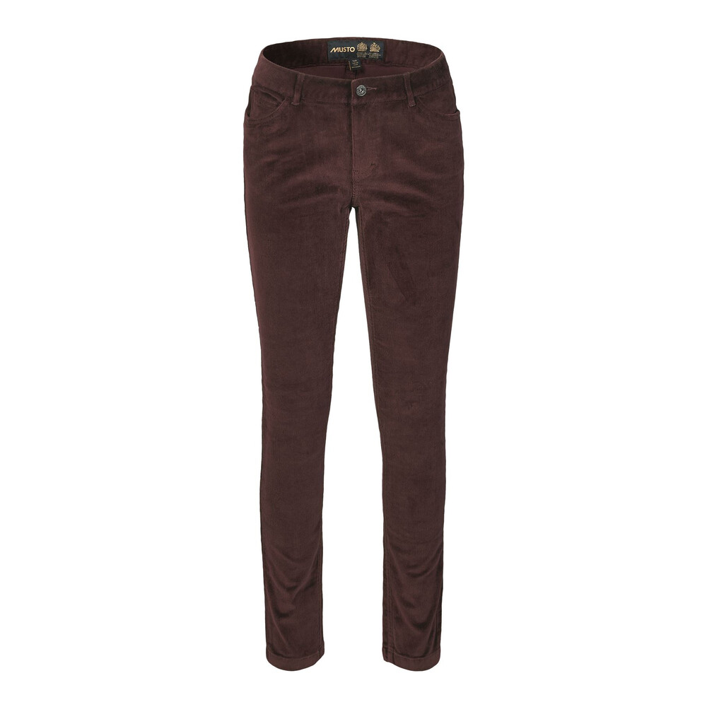 Musto Musto Parry Slim Fit Cords - Black Coffee
