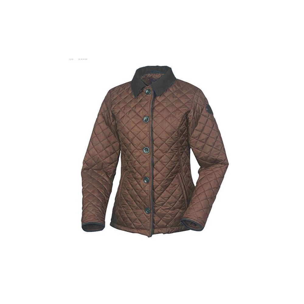 Le Chameau Le Chameau Spincourt Quilted Women's Jacket in Brown