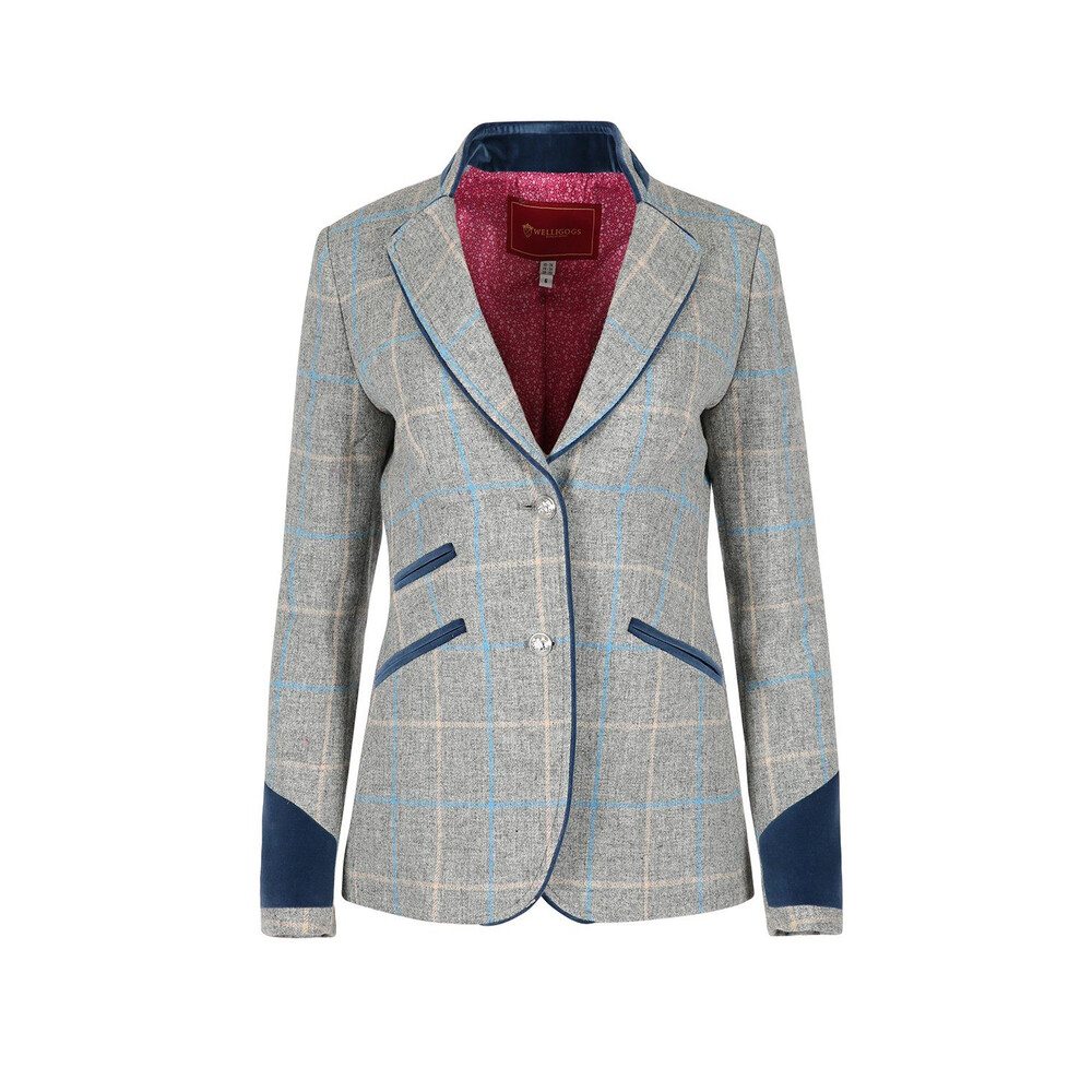 Welligogs Ascot Wool Fitted Jacket - Grey