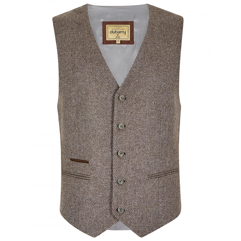 Dubarry Of Ireland Dubarry Ballyshannon Tweed Dress Vest - Elk