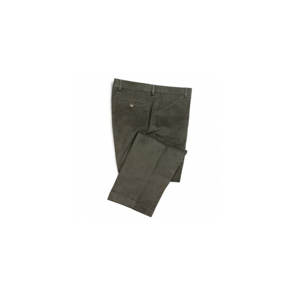 Hoggs Of Fife Hoggs of Fife Monarch Moleskin Trousers - Dark OliveRegular