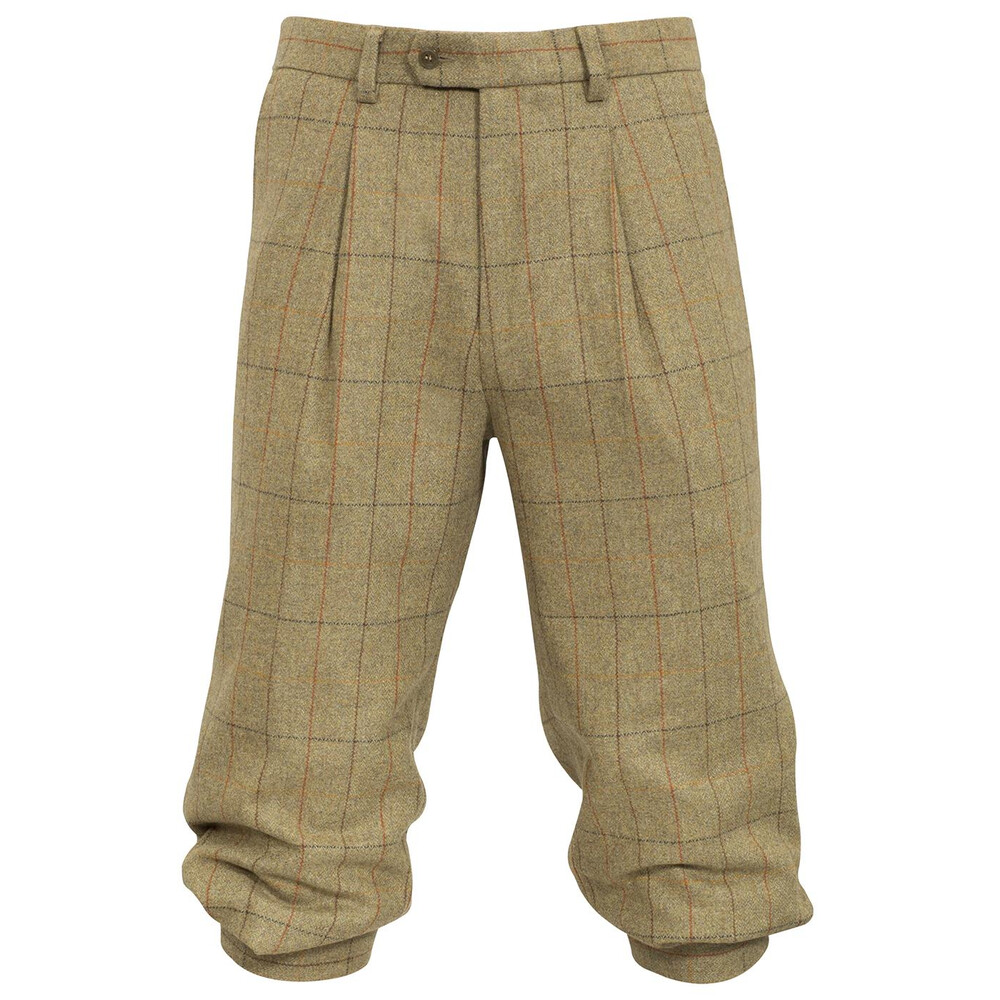 Alan Paine Combrook Tweed Breeks - Elm Green