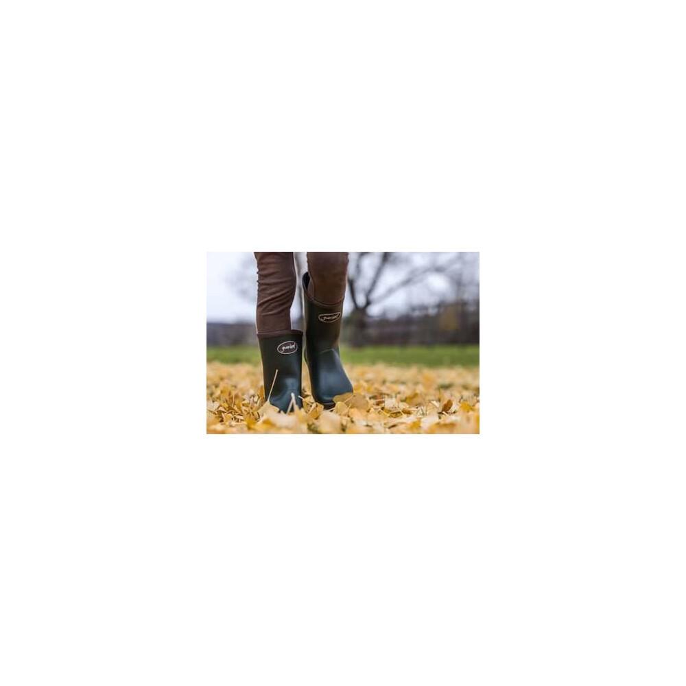 Gumleaf Kiddo Wellington Boots Dark Green