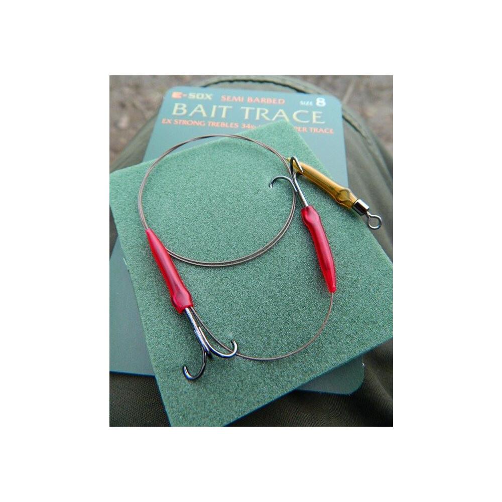 Drennan E-Sox Bait Trace - Semi-Barbed & Barbed Assorted
