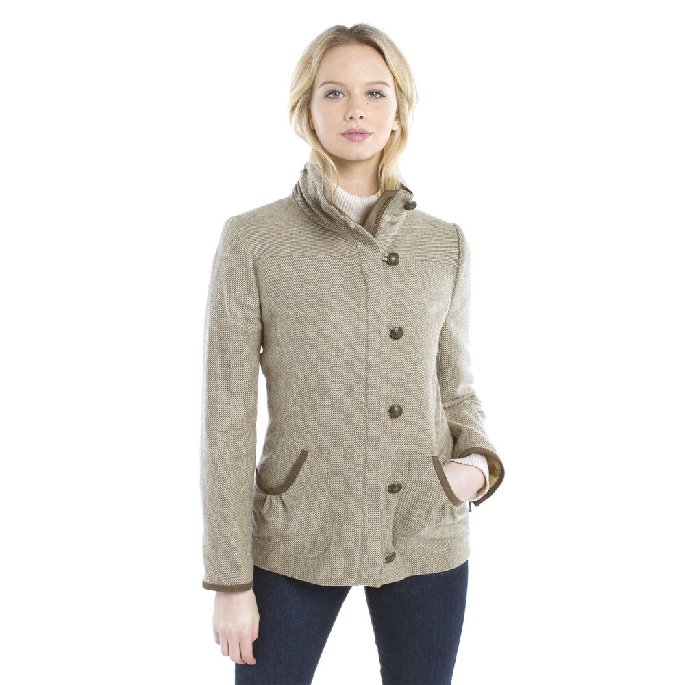 Dubarry Bracken Tweed Jacket - Heath Heath