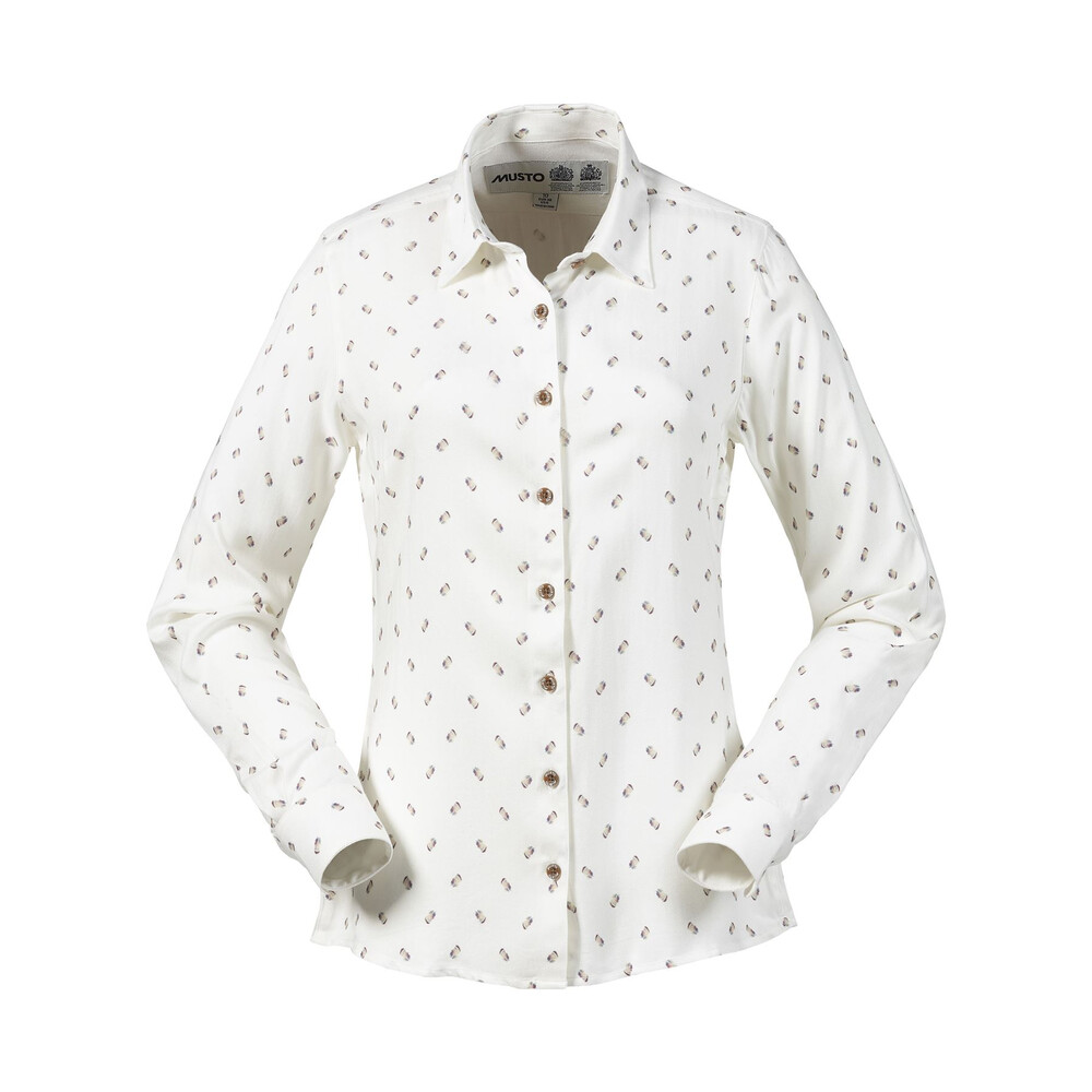 Musto Musto Women's Country Pattern Shirt - Partridge
