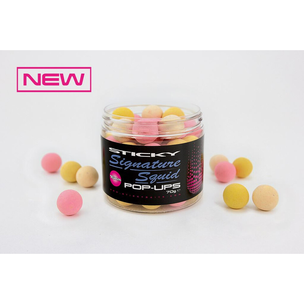 Sticky Baits Signature Squid Pop-Ups Unknown