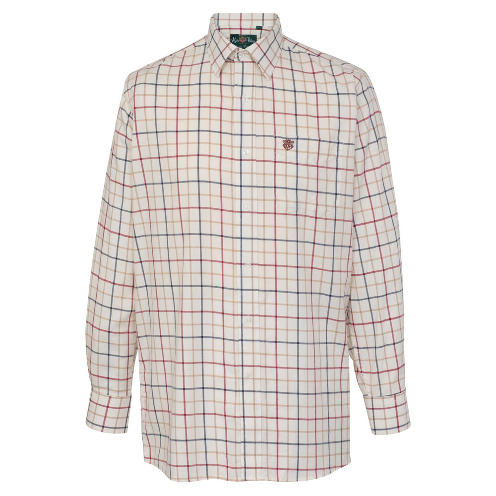 Alan Paine Ilkley Mens Shirt -  Check Wide