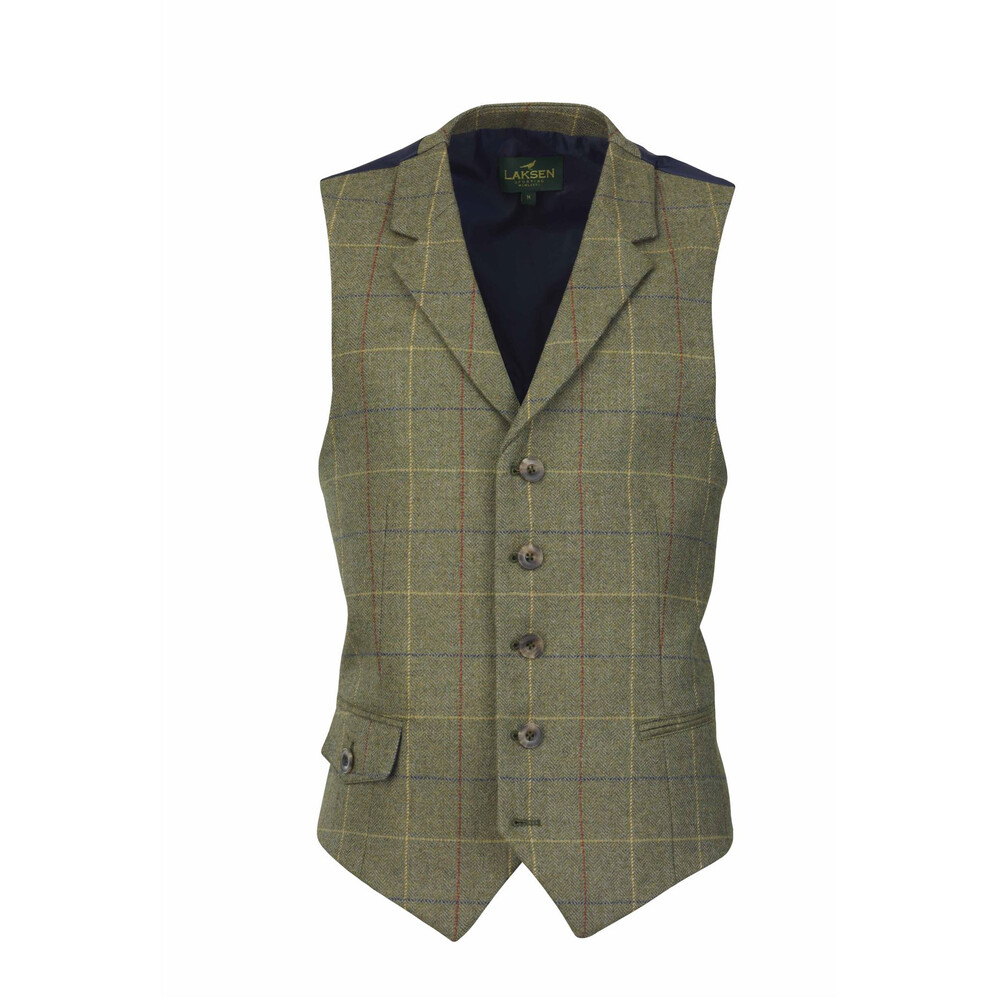 Laksen Woodhay Tweed Dress Vest
