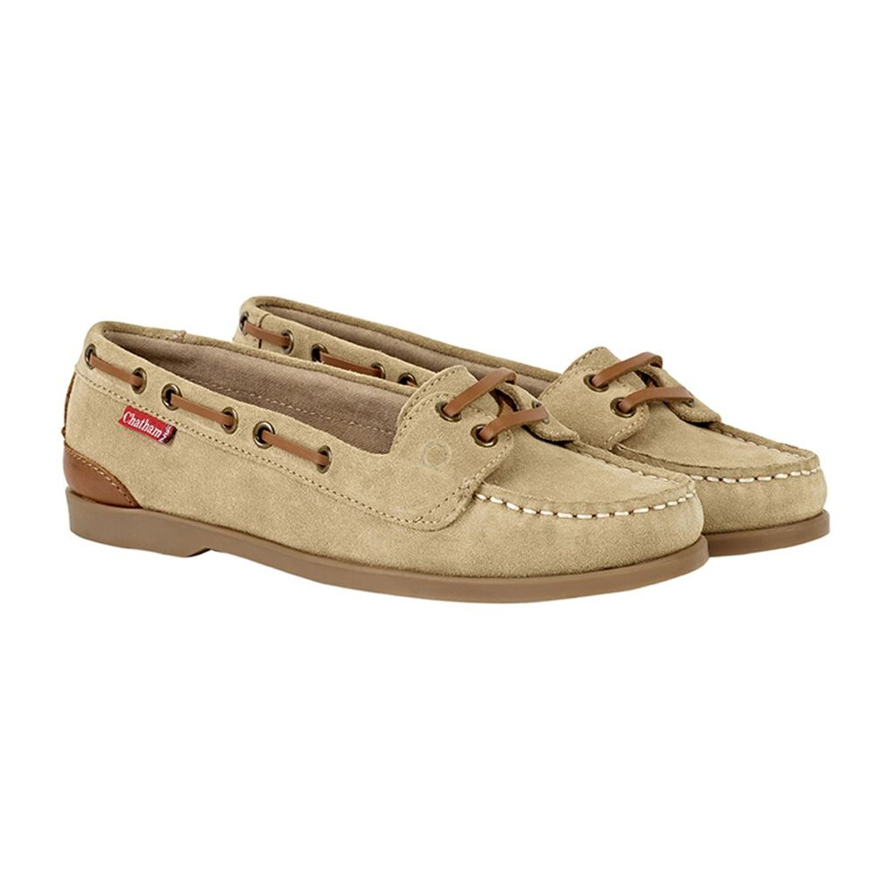 Chatham Rema Suede Boat Shoe