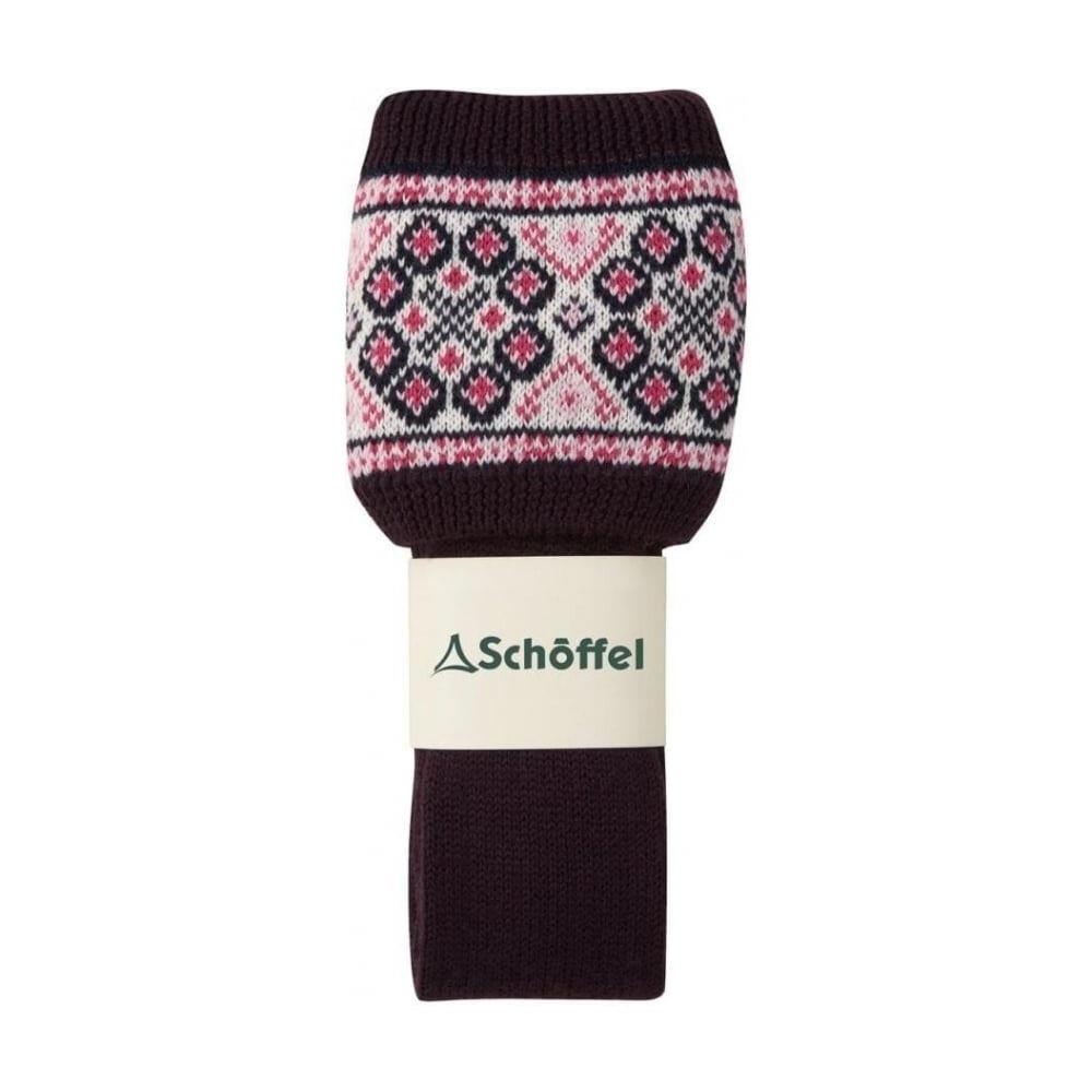 Schoffel Schoffel Foxton Fairisle Sock - Aubergine