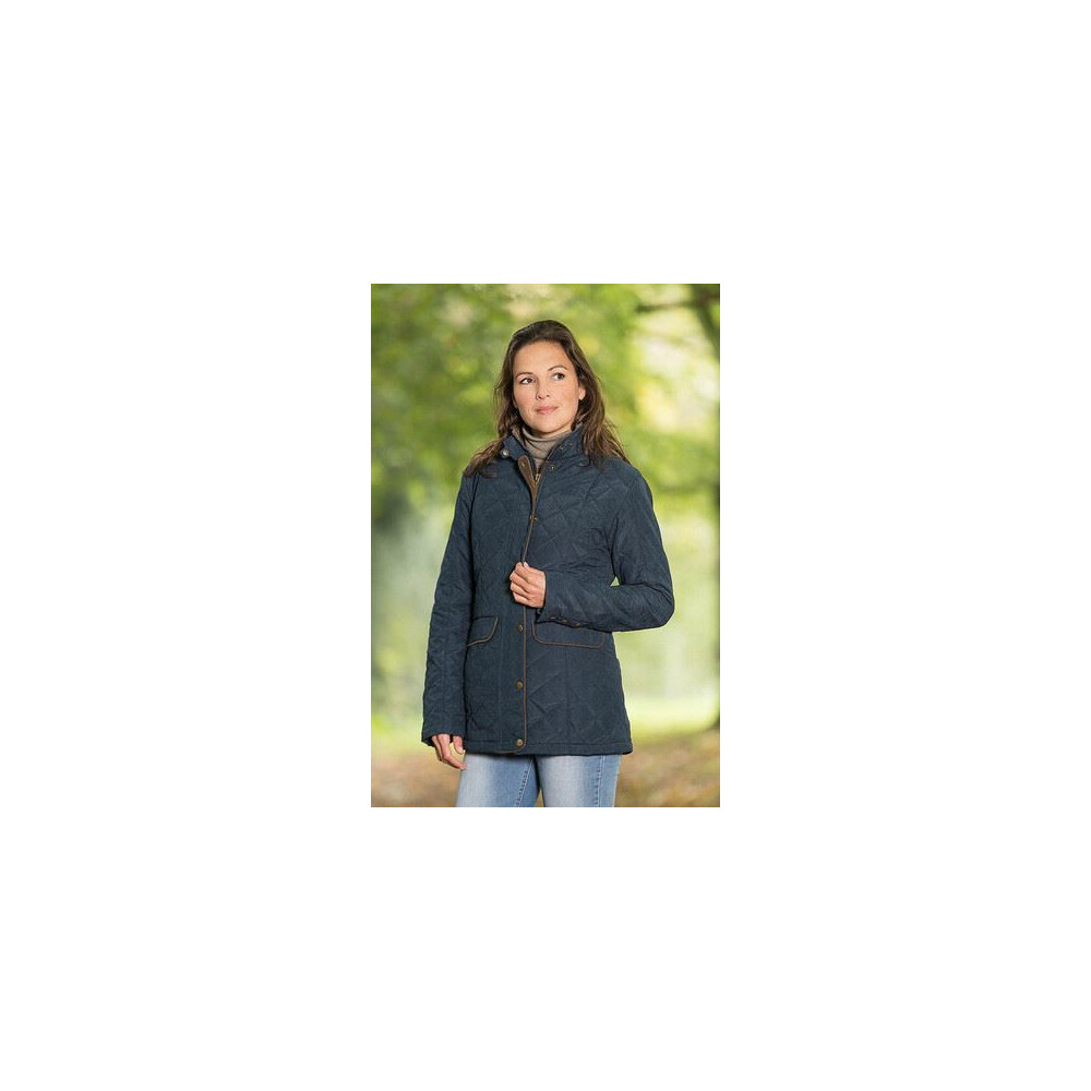 Baleno Cheltenham Ladies Quilted Jacket Navy