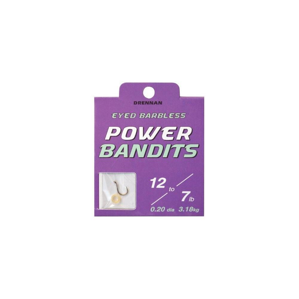 Drennan Hook To Nylon - Power Bandits