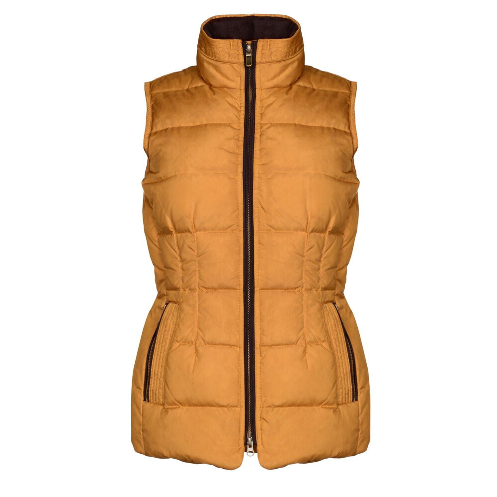Dubarry Dubarry Spiddal Gilet - Navy in Yellow