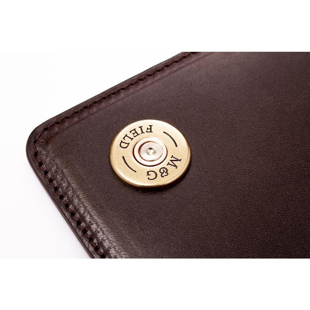 Mackenzie & George Marlborough Clutch Bag - Chocolate Brown