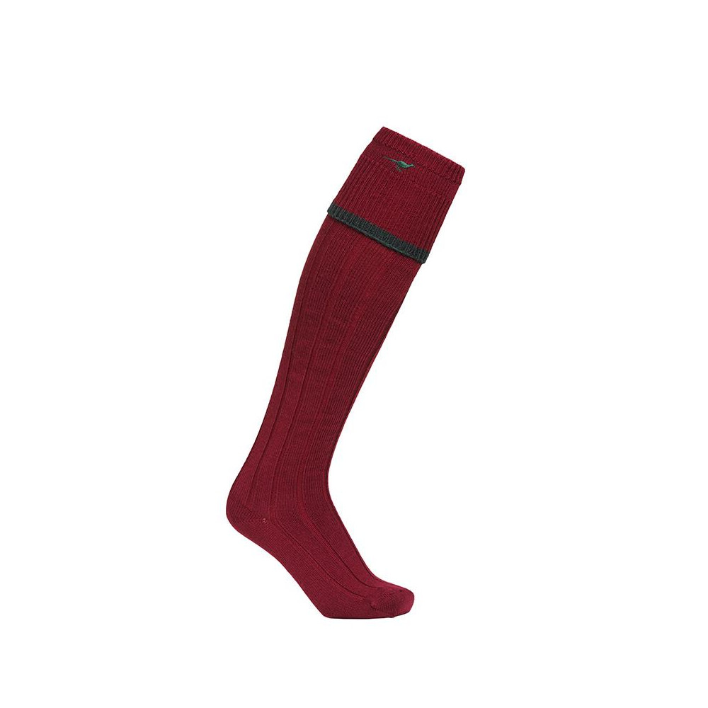 Laksen Laksen Colonial Stockings - Bordeaux/Pine