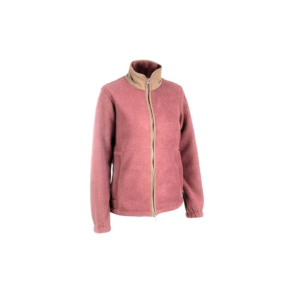 Alan Paine Aylsham Ladies Fleece Jacket - Wine Wine