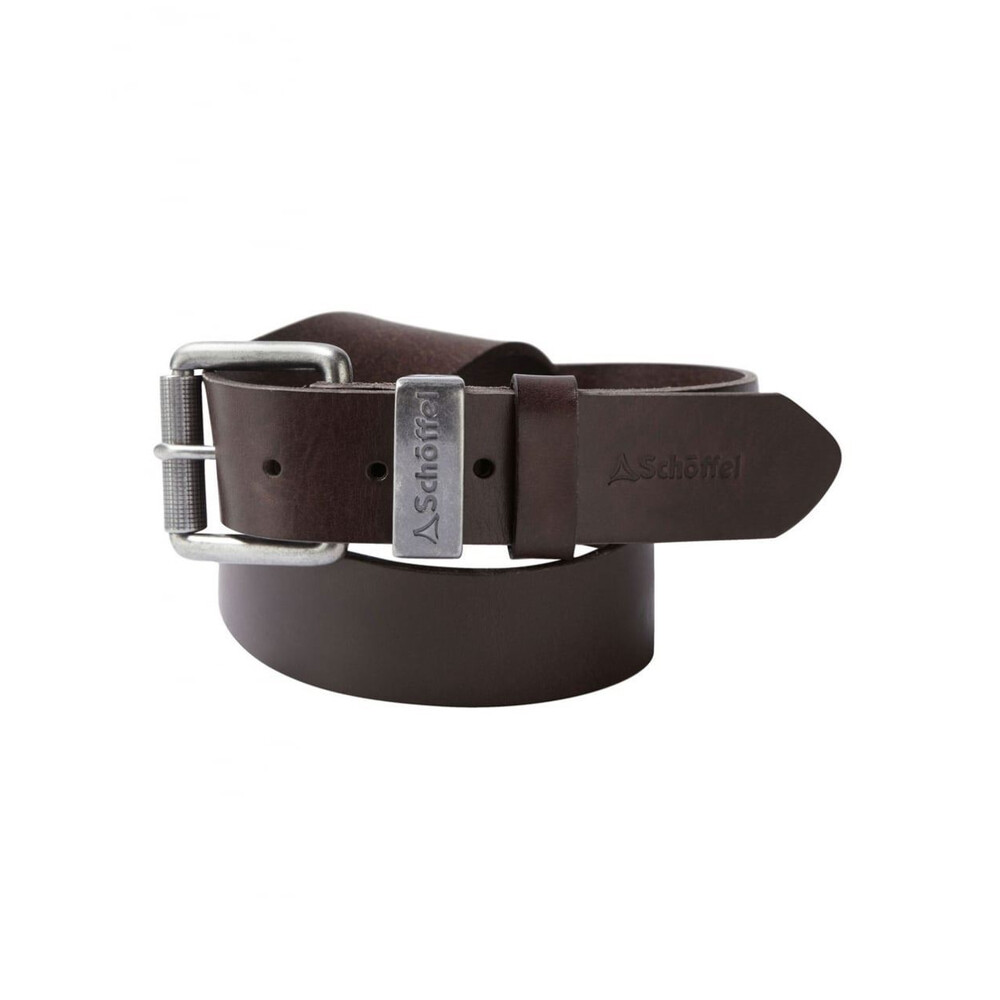 Schoffel Schoffel Leather Belt - Dark Brown