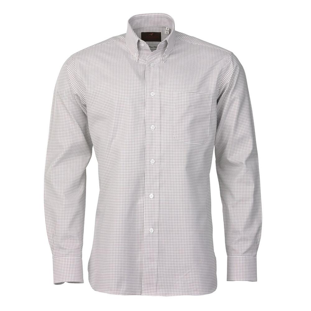 Laksen Laksen Royal Oxford Shirt - Curtis - Olive