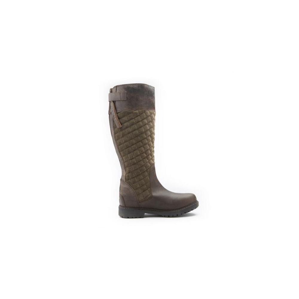 Chatham Ascot Waterproof High Leg Riding Boot Brown