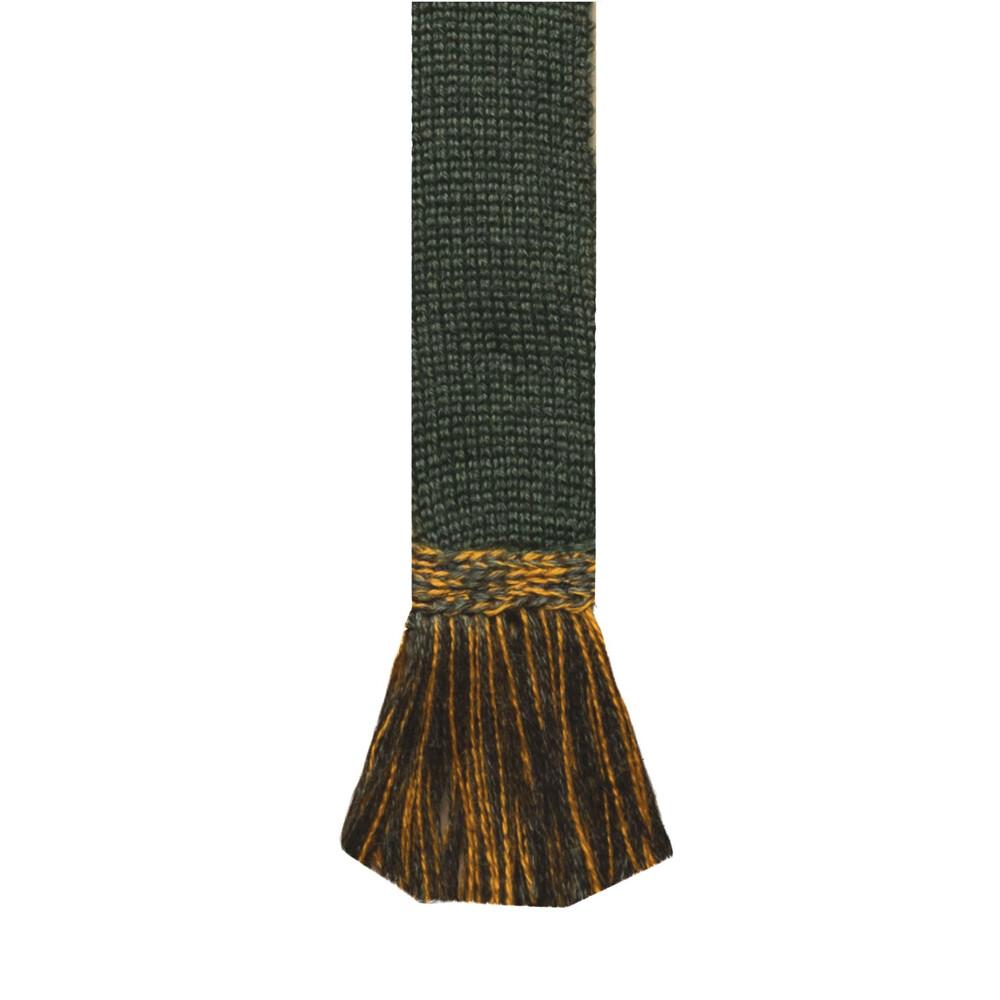 House of Cheviot House Of Cheviot Estate Field Sock - Spruce/ Ochre -  (UK 10.5 - 12.5)
