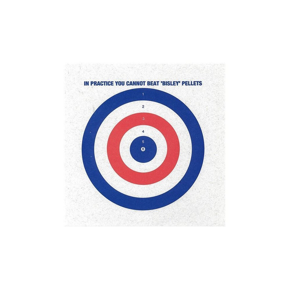 Bisley Coloured Targets - Pack of 1000 Unknown