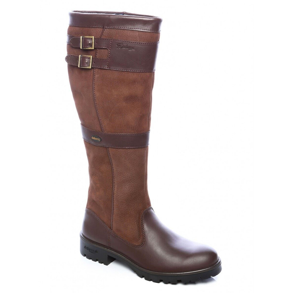 Dubarry Longford Knee-High Boot - Walnut