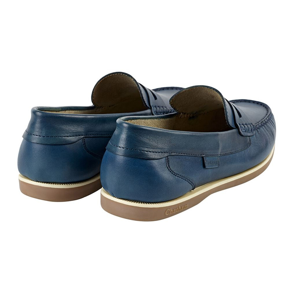 Chatham Faraday Loafer Shoe Azzure