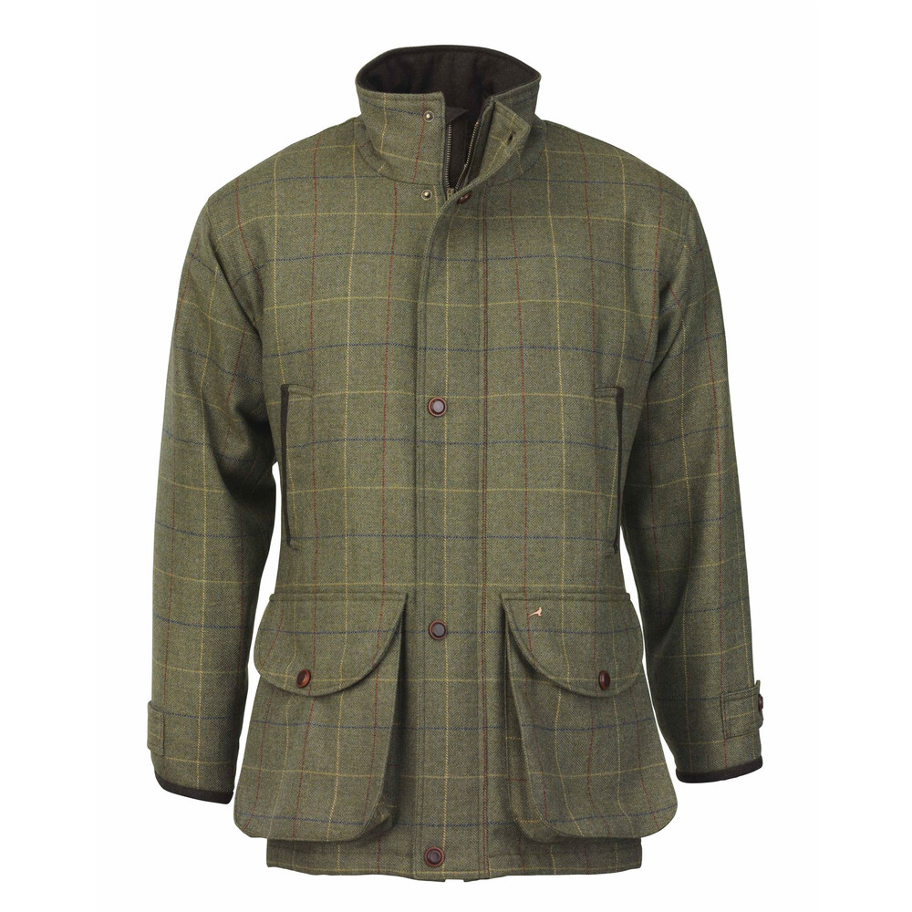 Laksen Woodhay Wingfield Tweed Coat