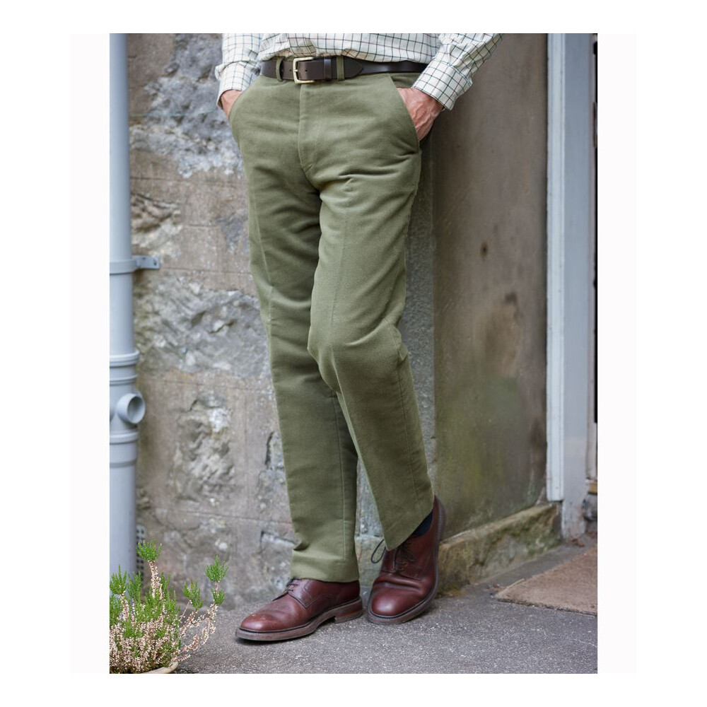 Hoggs Of Fife Hoggs of Fife Monarch Moleskin Trousers - LovatLong