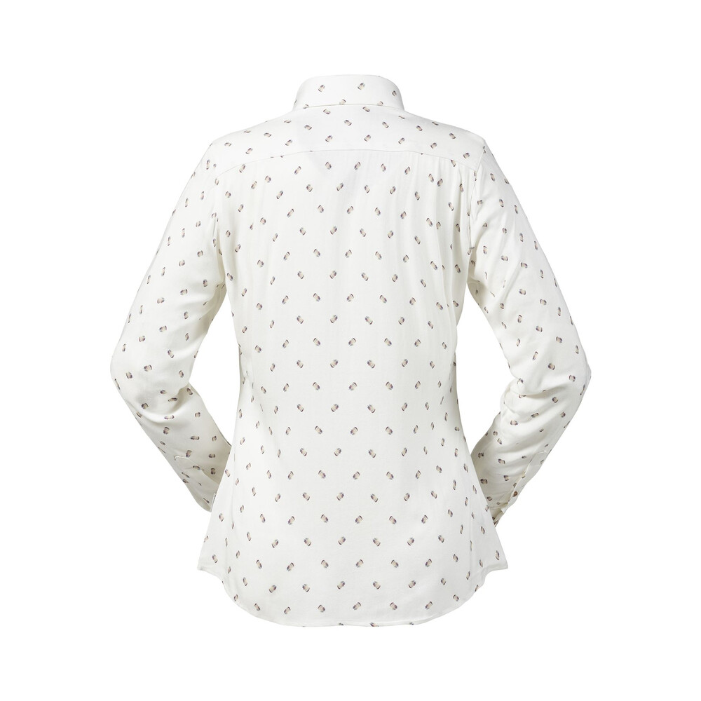 Musto Women's Country Pattern Shirt - Partridge White