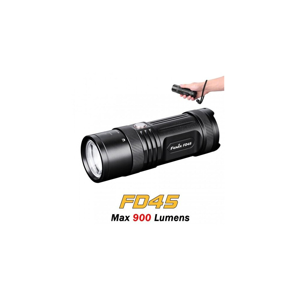 Fenix FD45 Torch - 900 Lumen Black