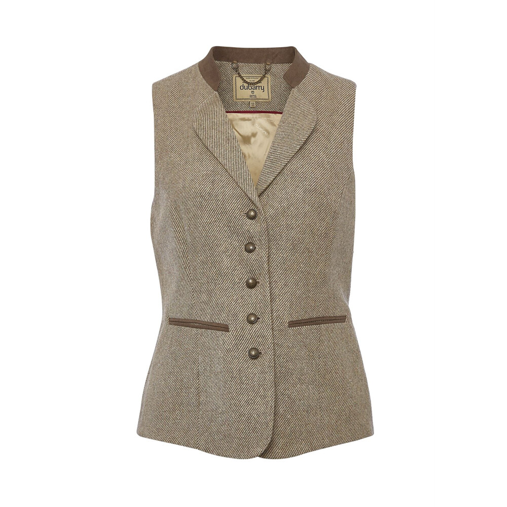 Dubarry Spindle Tweed Waistcoat - Sable