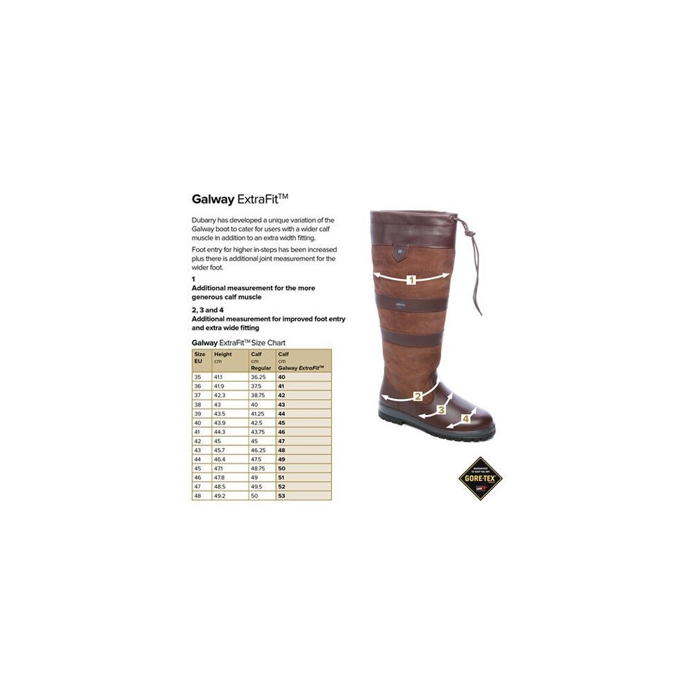 Dubarry Galway ExtraFit Boot - Walnut Walnut