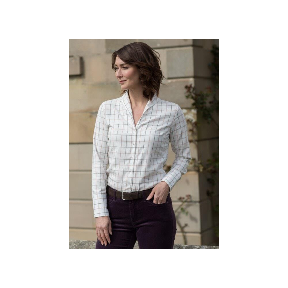 Dubarry Of Ireland Dubarry Womens Huckleberry Cotton Shirt - Berry Multi
