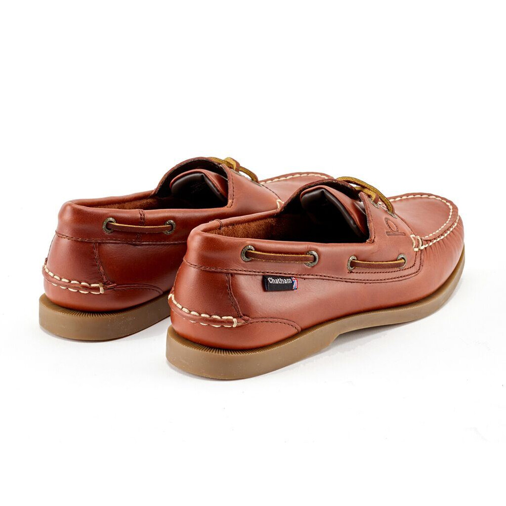 Chatham Deck II G2 Leather Boat Shoe - Chestnut Chestnut