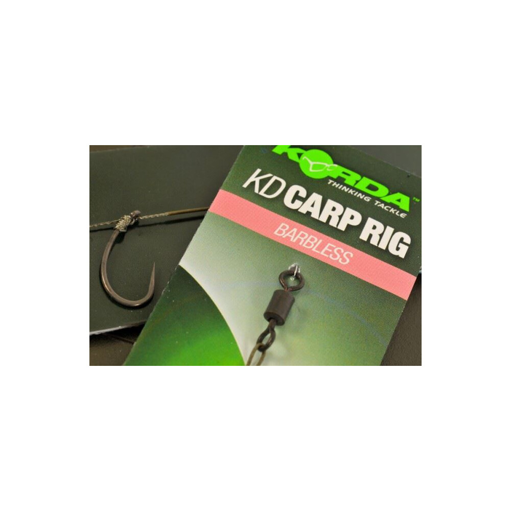 Korda Ready Tied KD Rig - Barbless Unknown