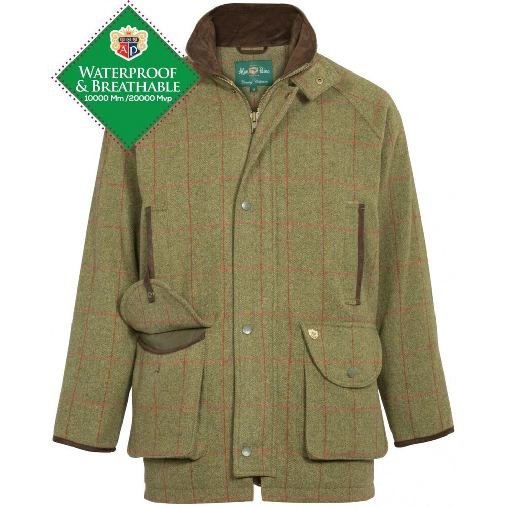 Alan Paine Combrook Tweed Shooting Coat