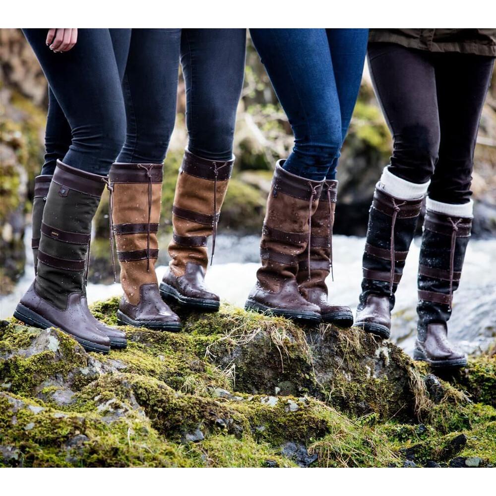 Dubarry Galway Boot - Black/Brown Black/Brown