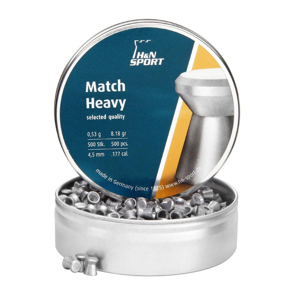 H&N Match Heavy Pellets4.50mm