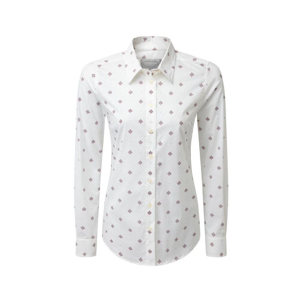 Schoffel Schoffel Norfolk Shirt - Fig Bluebell