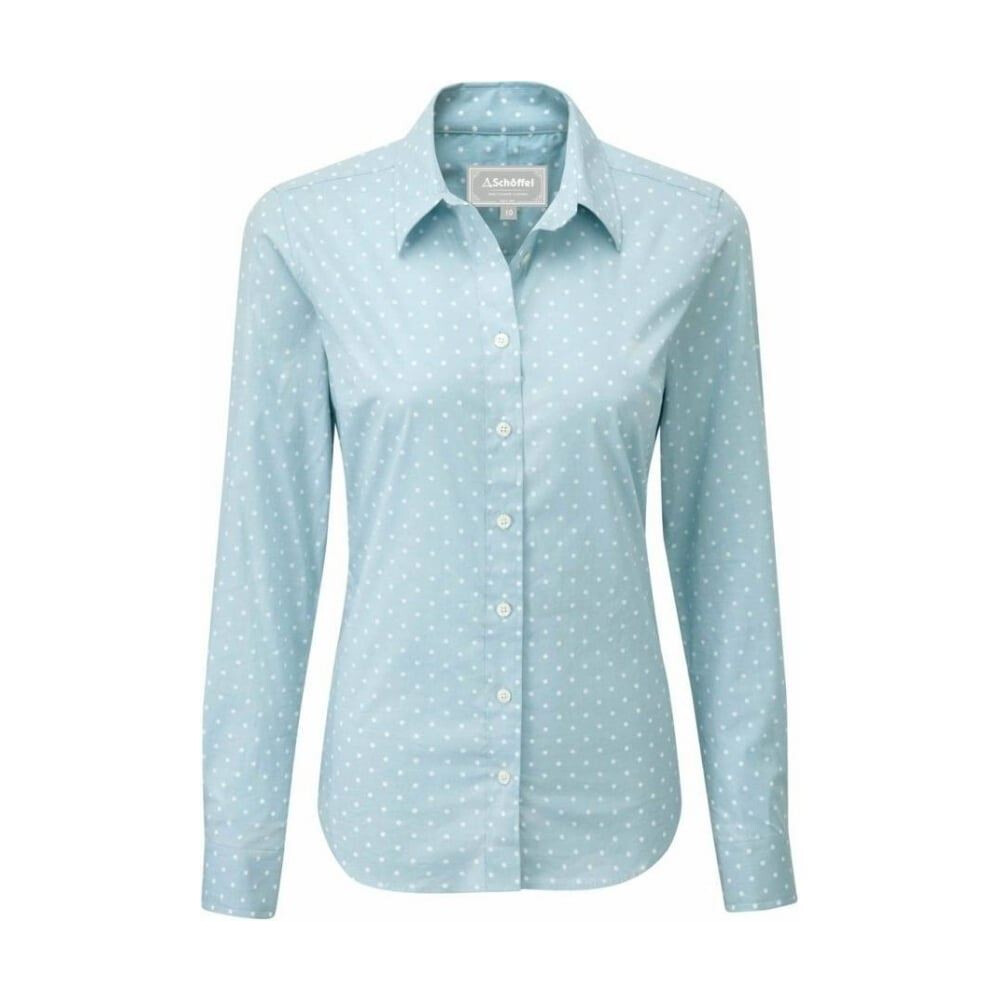 Schoffel Schoffel Surrey Shirt - Duck Egg