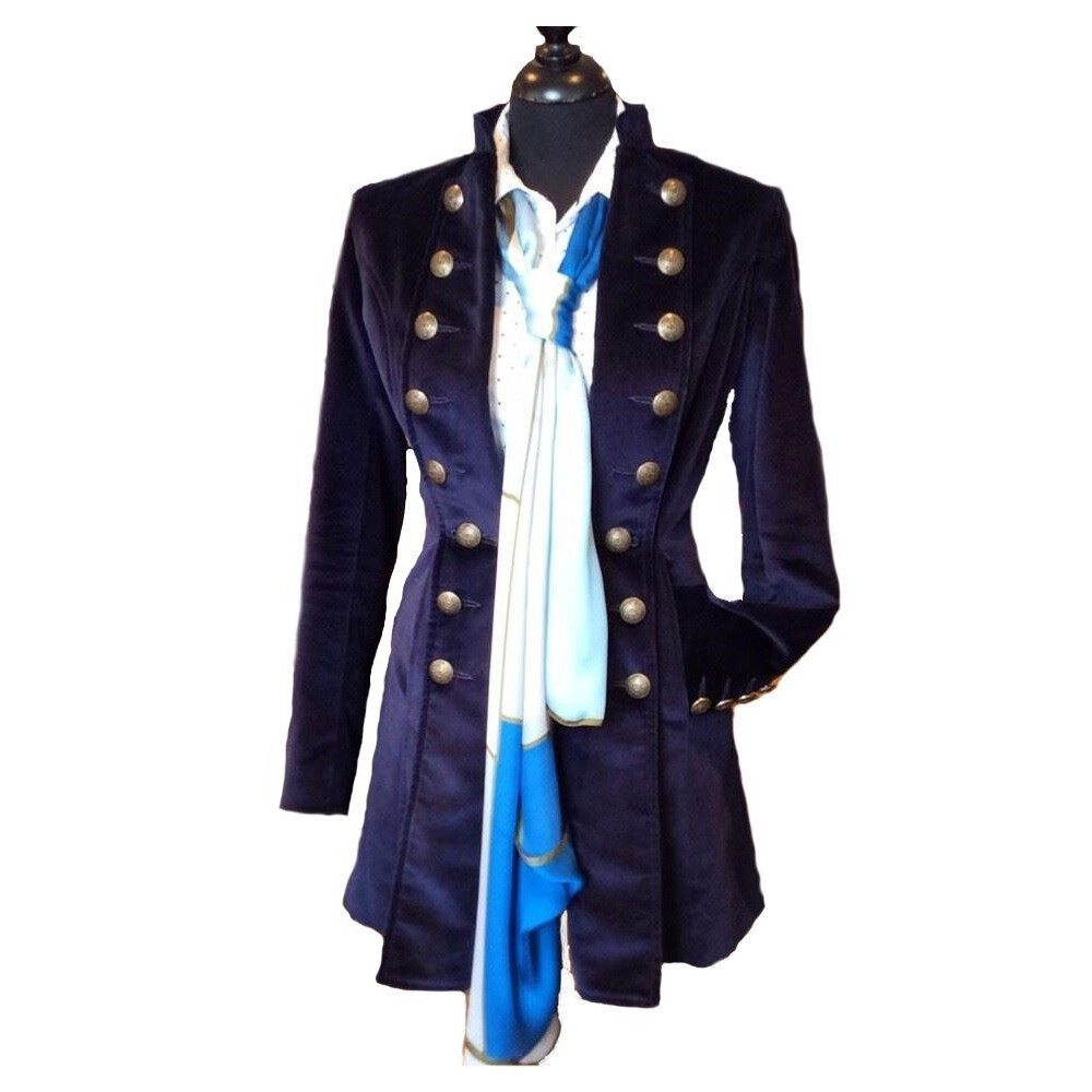 Beaver of Bolton Pirate Jacket - Navy Navy Velvet