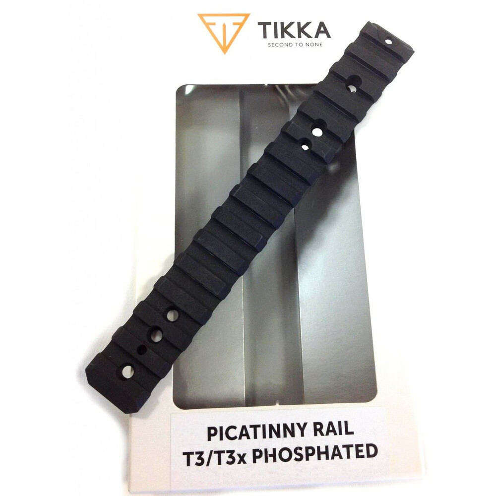 Tikka T3/T3X Tactical Picatinny Rail - Phosphated